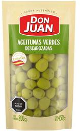 Aceitunas Verdes Descarozadas Don Juan 450g