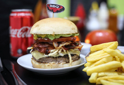 Tocino Burger Combo
