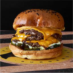 FKN Triple Smashed Cheeseburger