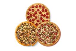 Pizza Pepperoni y 2 Especialidades