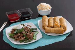 Promo Carne Mongoliano