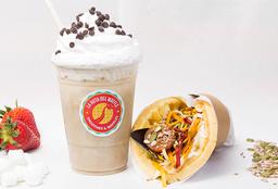 Waffle Vegan Seeds + Café Helado