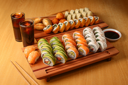 Combinación 4 Sushi (60 piezas)