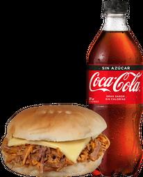 Mechada Luco + Bebida Coca Cola 591 cc Variedades