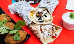Combo Shawarma Mixto - Kebab