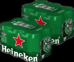 Promo: 2 Six Pack Heineken lata 350cc