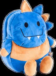 Mochila Con Patitas Dinosaurio Azul