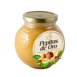 Miel de Abeja Pepitas de Oro en Frasco 500 g
