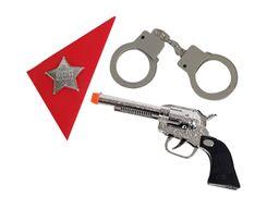 Set Sheriff Pistola Plata
