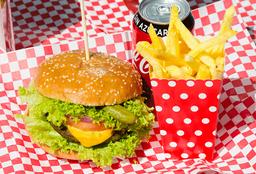 Combo Hamburguesa Clásica Heart Attack