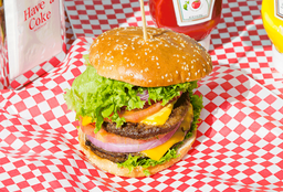 Hamburguesa Doble Heart Attack
