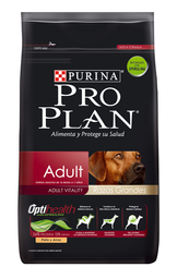 Alimento Para Perro Pro Plan Adult Vitality Razas Grandes 15 Kg