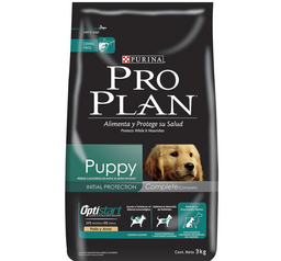 Alimento Para Perro Pro Plan Puppy Complete 3 Kg