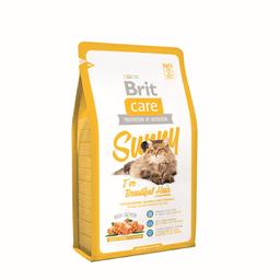 Alimento Para Gato Brit Care Sunny Beautiful Hair 2 Kg