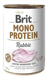Alimento Humedo Para Perro Brit Mono Protein Rabbit 400 Lata g