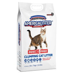 Arena Para Gato American Litter Dust Free 7 Kg