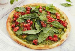 Pizza Pesto con Spinaci