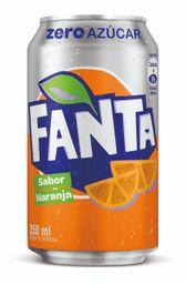 Fanta Zero Lata 350 ml