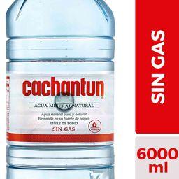 Agua Mineral Cachantun S/Gas Bidón 6Lt