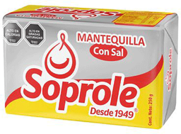 Mantequilla Soprole Pan 250g