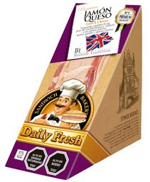 Sandwich Molde Jamon Queso Daily Fresh 175g