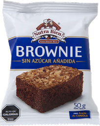 Brownie Sin Azucar 50g