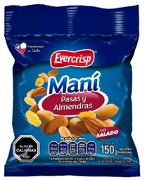 Mix Mani Almendra Y Pasas 150g