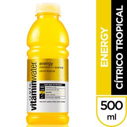 Agua Energy Citrico Tropical Glaceau VitaminWater 500ml