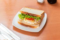 Sándwich Huevo, Tomate, Lechuga