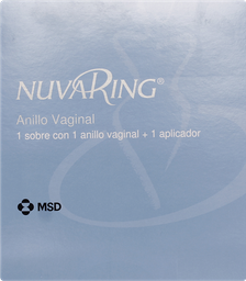 Nuvaring Anticonceptivos Anillo Vaginal Intra Uterino 1Un