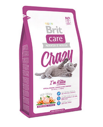 Alimento Brit Care Cat Kitten Crazy 2 Kg