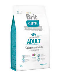 Alimento Brit Care Dog Adult Salmon & Potato 3 Kg