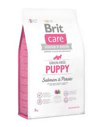 Alimento Brit Care Dog Puppy Salmón Potato 3 Kg