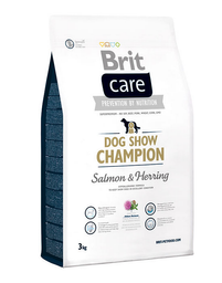 Alimento Brit Care Dog Show Champion Salmon/Herring 3 Kg