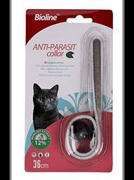Collar Antiparasitario Bioline Para Gato 36 cm 1 U