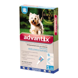 Antipulgas Advantix Para Perro de 4 a10 Kg 1 U