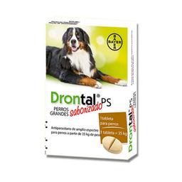 Desparasitante Drontal Para Perro 1 Comprimido