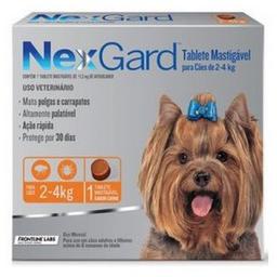 Antipulgas Nexgard Perros de 2 a 4 Kg 1 Comprimido