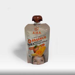 Ama Pouch Organico Platano Mango