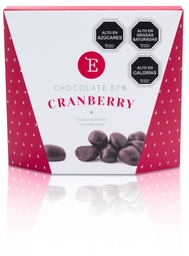 Cranberry Encanto Caja Con Chocolate 60% 150 g