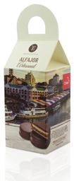 Alfajor de Manjar Encanto Caja Chocolate SemiAmargo 4 U