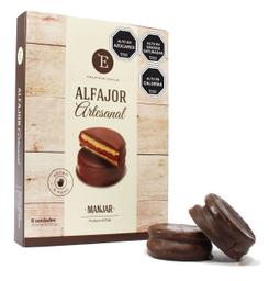Alfajor de Manjar Encanto Caja Chocolate SemiAmargo 6 U