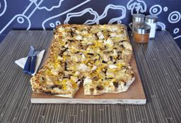 Pizza a la Crema Familiar