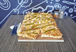 Pizza Premium Espárragos Familiar