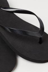 Calzado Ocasio Flip Flop Negro 1 U