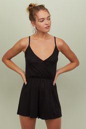 Vestido Coral Jumpsuit Negro 1 U