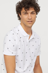 Polera Artichoke Slim Fit Polo Blanco 1 U