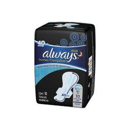 Always Toallas Higienicas Noc.Sec.Xxla.C/A10