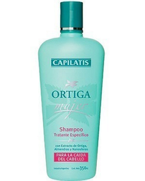 Capilatis Shampoo Ortiga Mujer Para La Caida Del Cabello