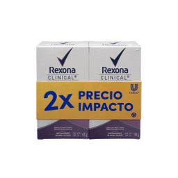 Rexona - Pack Clinical Whoman Mix